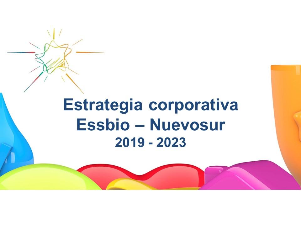 Estrategia corporativa Essbio                    Nuevosur 2019 - 2023